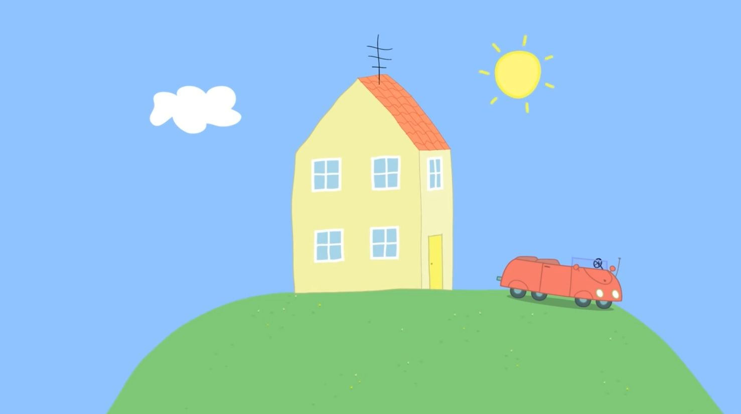 peppa pig house  Buscar con Google  PEPPA PIG PARTY  Pinterest  Pig party Pig birthday and Birthdays