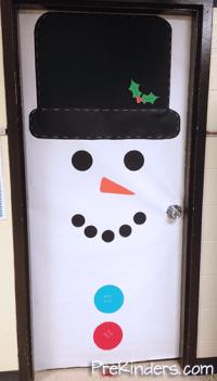 Christmas Snowman Classroom Door Decorations | www.imgkid ...