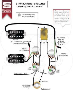 Wiring Diagrams  Seymour Duncan | Seymour Duncan | Bob's