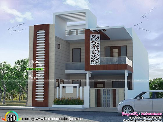 Decorative house plan by sk consultants also aashiyaana pinterest rh