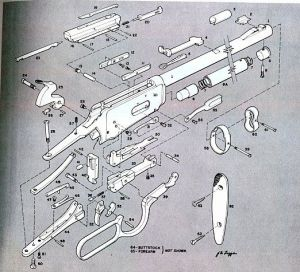 Winchester Model 94 Parts Diagram | Projects to Try | Pinterest | Winchester, Diagram and Models