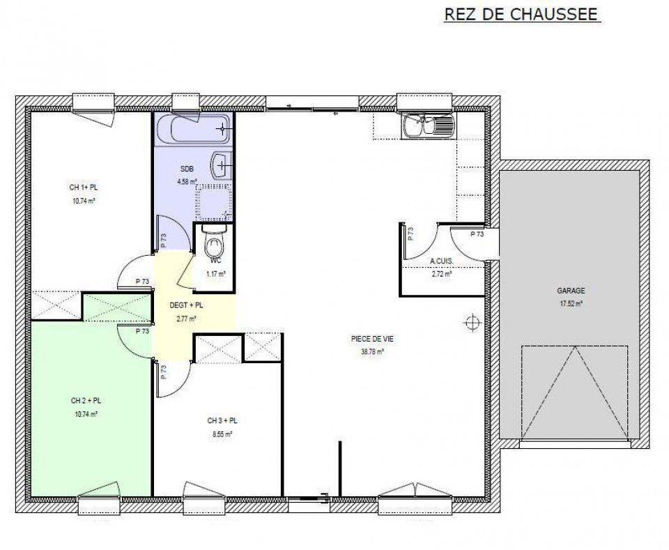 Plans De Maison A Construire Liberty Pp M Habitable
