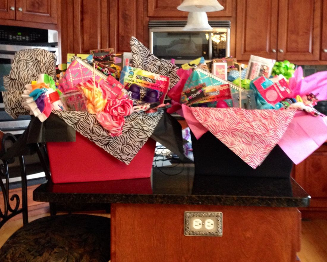 Gift baskets for the preteen girls good time for their