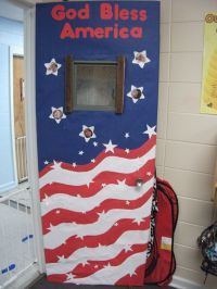 Fouth of July Door Design | Classroom art | Pinterest ...