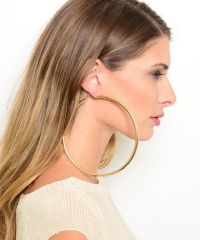 huge hoop earrings - Google Search | Earrings | Pinterest ...