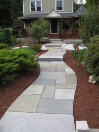 pattern for walkway   Bluestone Patio fits precisely and ...