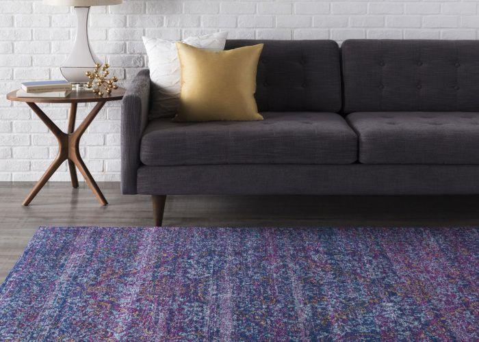 Haute hali persian distressed purple blue rug  also andover area furniture pinterest