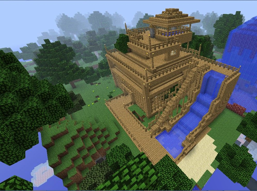 Monkeyfarm Inspired Base Minecraft Pinterest Minecraft