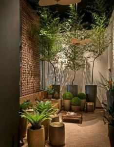 Get tips from professional landscape designers on how to design  small patio see pictures of ideas for your own also jardin interno garden pinterest patios gardens and backyard rh