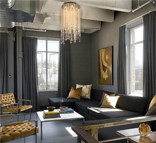 living room decor grey couch l shaped sets best 25+ and gold ideas on pinterest | baby girl ...