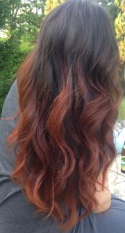 copper coloured hairstyles fade