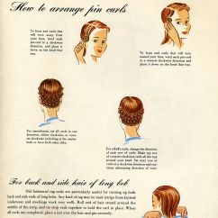Vintage Pin Curls Diagram Active Directory Sample Beauty Is A Thing Of The Past And How To Set