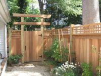 1. Japanese-style simple pergola   Garden Features ...