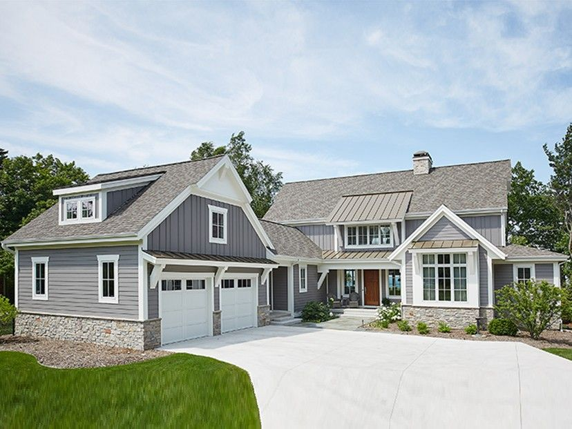 ePlans Farmhouse House Plan  Modern Farmhouse With