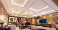 hidden lighting | Living Room Lighting Decoration Setup ...