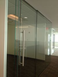 Transwestern MD - Frameless glass office fronts with ...