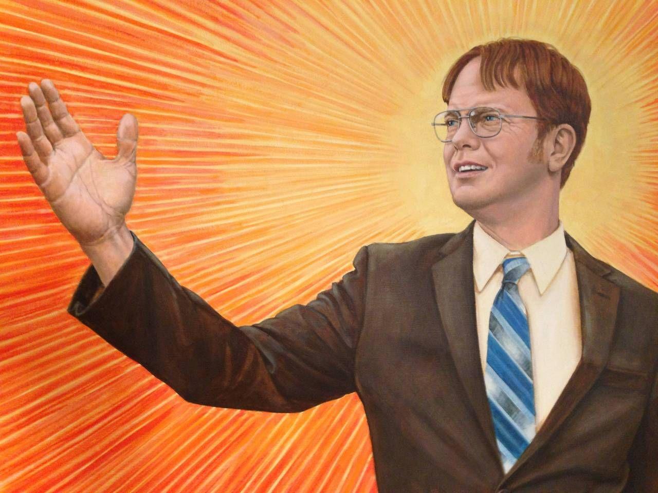 Dwight Schrute Regional Manager  Art Attakk