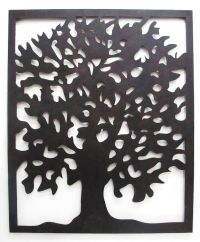 Outdoor Wall Art Laser Cut Steel Tree of Life from Earth ...