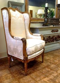 Attractive-antique-wingback-chair-design-inspiration-with ...