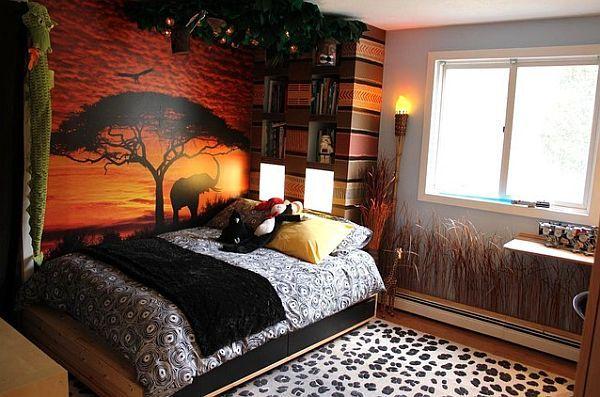 Safari Bedroom Decor