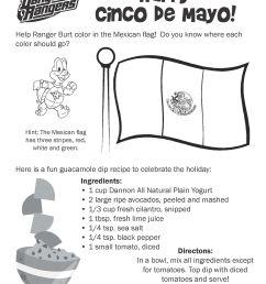 Cinco De Mayo Worksheets For Preschool   Printable Worksheets and  Activities for Teachers [ 3300 x 2550 Pixel ]