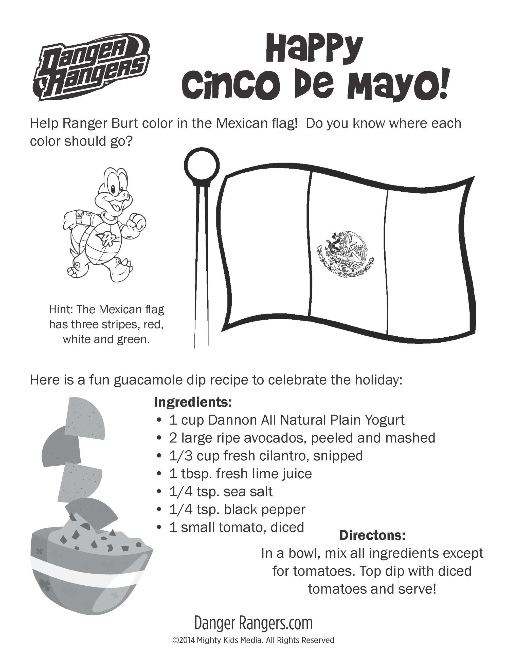 hight resolution of Cinco De Mayo Worksheets For Preschool   Printable Worksheets and  Activities for Teachers