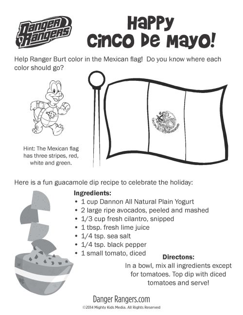 small resolution of Cinco De Mayo Worksheets For Preschool   Printable Worksheets and  Activities for Teachers