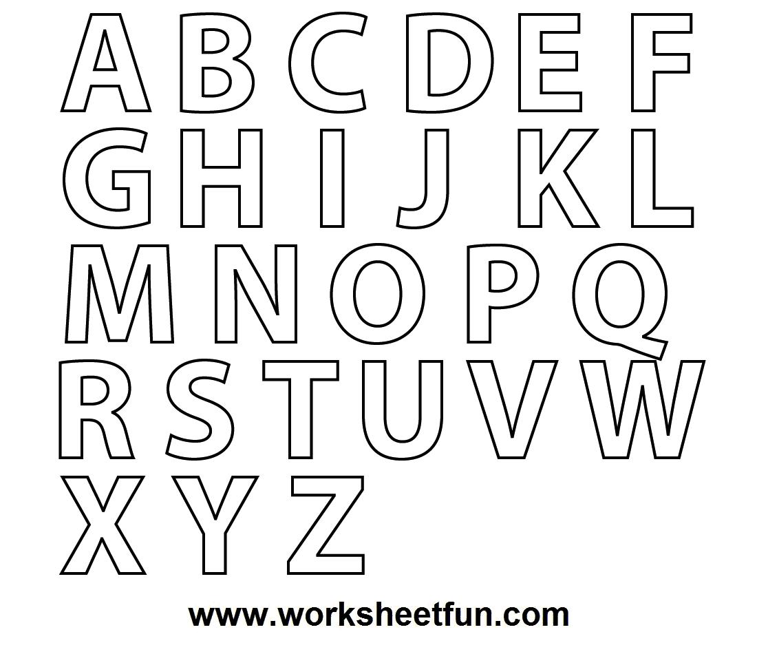 A Z Colouring Sheet