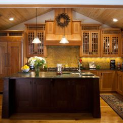 Kitchen Kraft Cabinets Decor For Craftsman Style Arts And Crafts Cherry