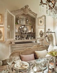 Eye for design decorating with french provincial white cane furniture also rh pinterest