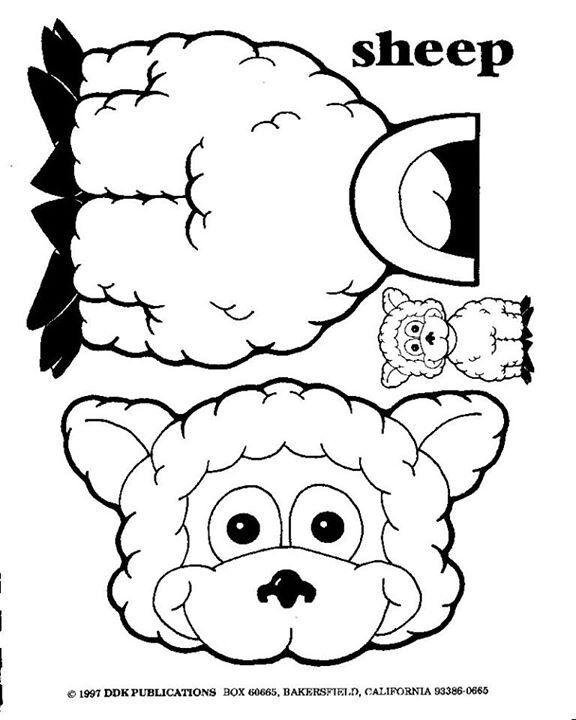 Parable of the Lost Sheep activity coloring sheet