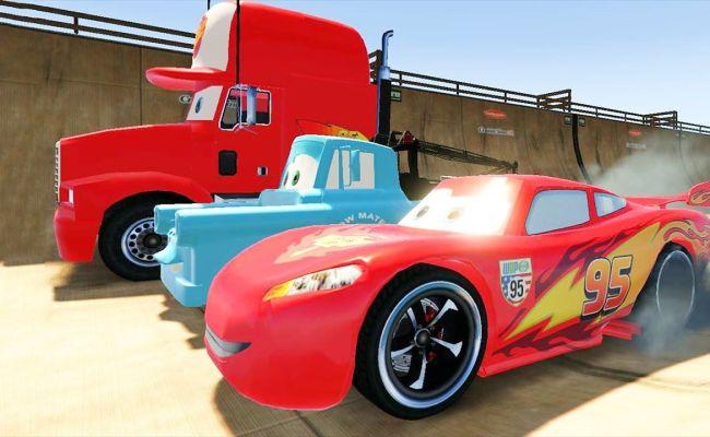 Disney Cars Games For Kids Spiderman Lightning Mcqueen