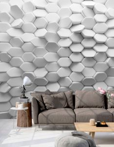 Fotomural  medida white mystery find this pin and more on interior design  also img effect pinterest wall rh