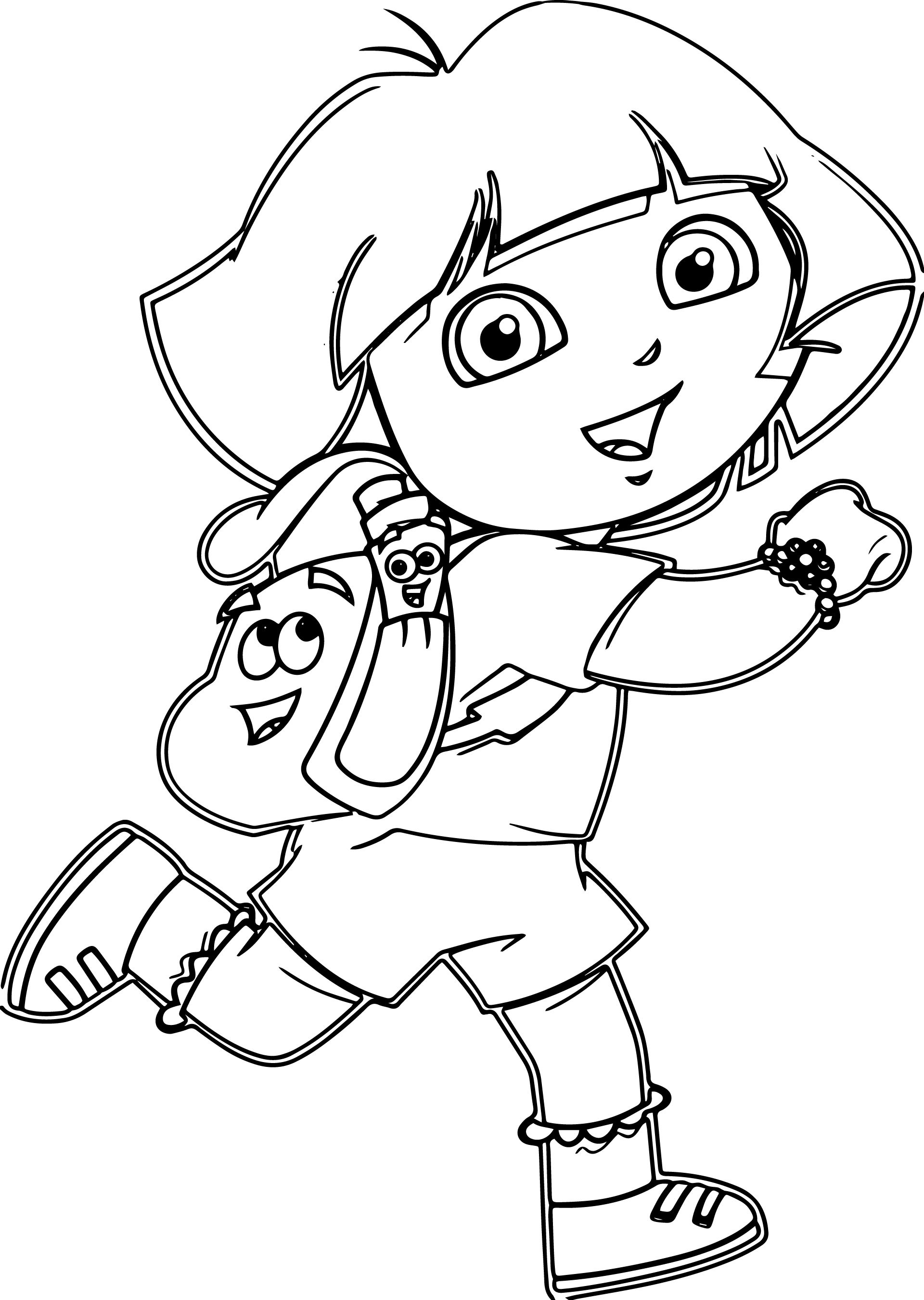 Cartoon Pictures Of Dora