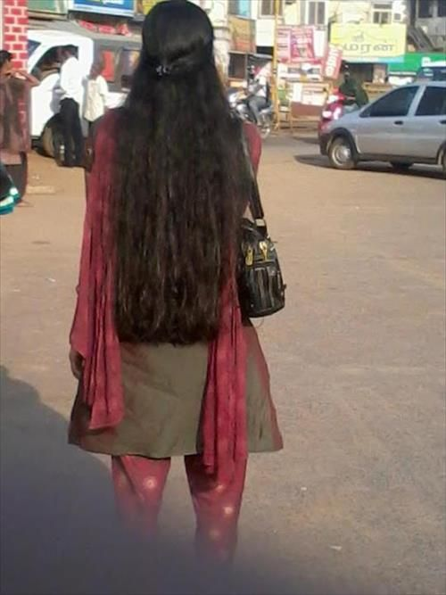 Indian Womens With Long Hairs Indian Hairstyles Pinterest