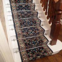 Persian D/Blue - Stair Carpet Runner Narrow Staircase ...