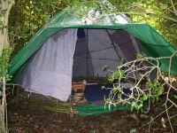Gypsy bender tent survival shelter wiki wigwam tarp ...