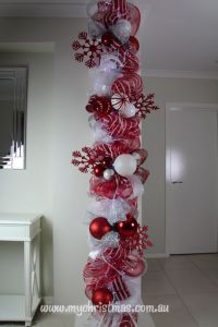 christmas idea for support column or pole | Christmas ...