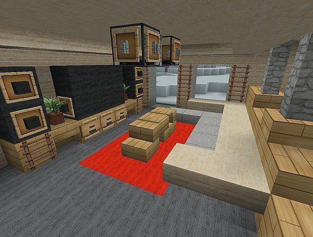 Cool Minecraft Interior Designs