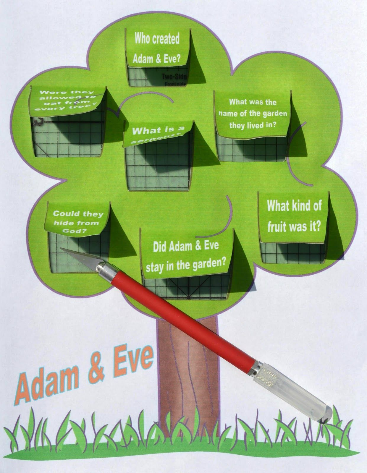 Today S Bible Lesson Is Adam Amp Eve And I Wanted To Spend