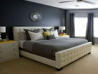 Master Bedroom Shades of Color Grey Decor