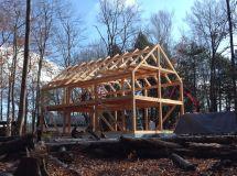 24x40 Casco Bay Barn House Timber Frame Frames