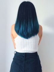 beautiful blue ombre colors