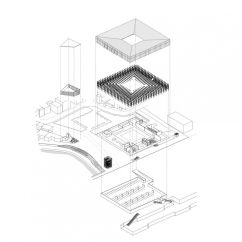 Exploded Axon Diagram Strat Wiring 3 Way Switch Axonometric Architectural Visualisation Pinterest
