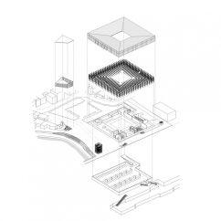 Exploded Axon Diagram Blank Nerve Axonometric Architectural Visualisation Pinterest