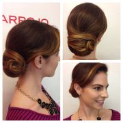 sleek and smooth updo classic