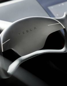 Tesla you make me proud to be part of this century above is  view the beautiful minimalist interior new roadster fastest production car in also rh pinterest