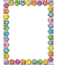 Use this whimsical, delightful Colorful Owls design to ...