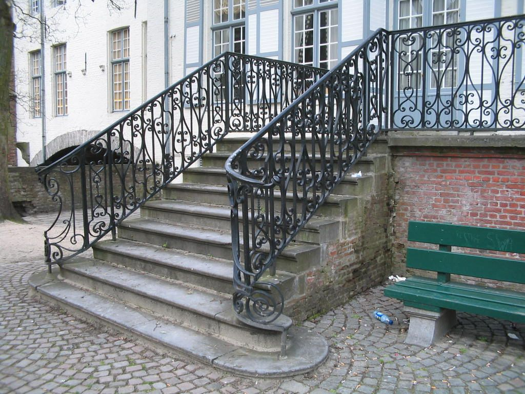 Exterior. Exterior Handrail Ideas For Outdoor Properties