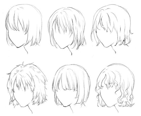Anime Boy Hairstyles Google Search Pinteres